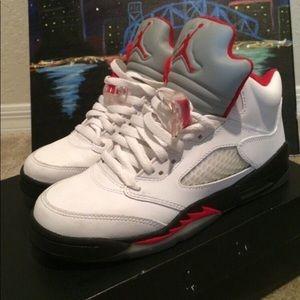 Air Jordan's Retro 5s
